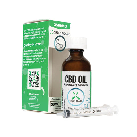 Green Roads 3500MG CBD Oil (60ML)