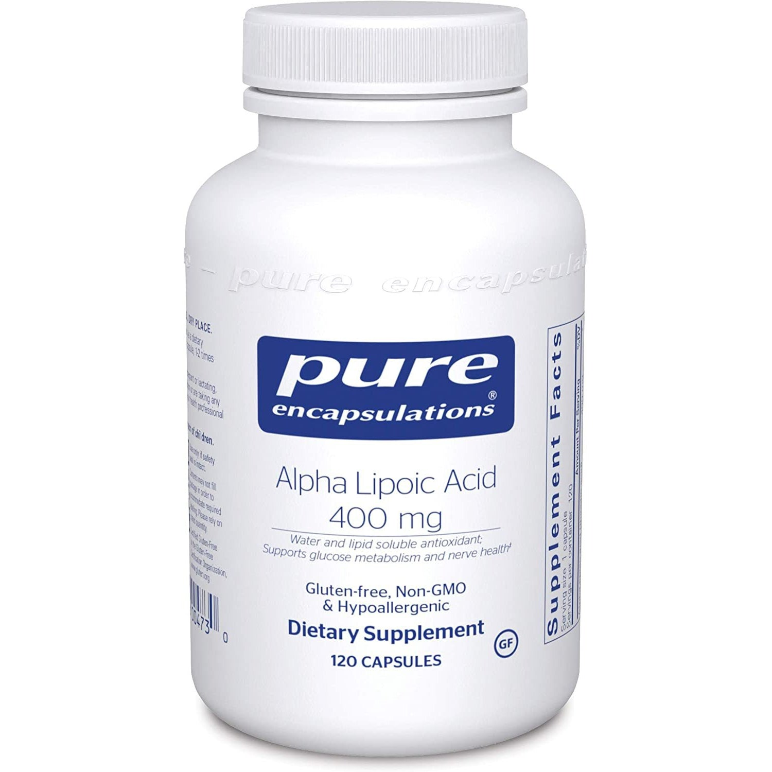 Alpha Lipoic Acid 400MG Pure