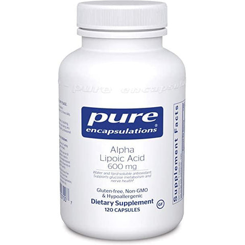 Alpha Lipoic Acid 600MG Pure