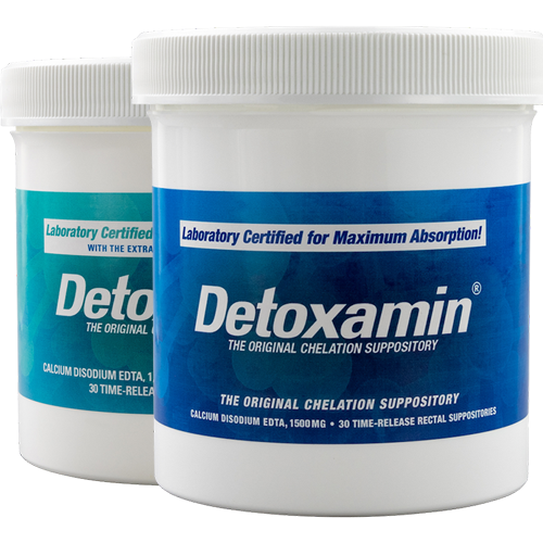 Detoxamin 1500mg Suppositories