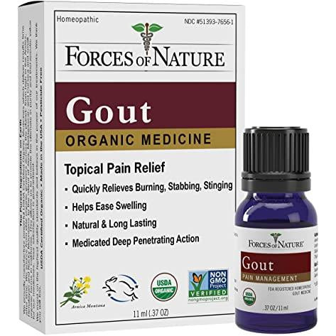 Gout Pain Management Control-11ml- Forces Of Nature
