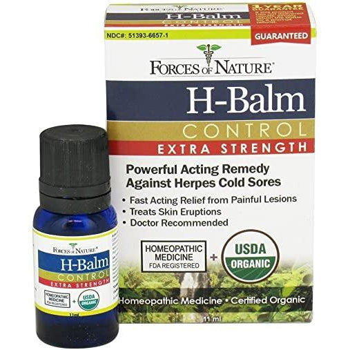 H- Balm Control Extra Strength- 11ml- Forces Of Nature