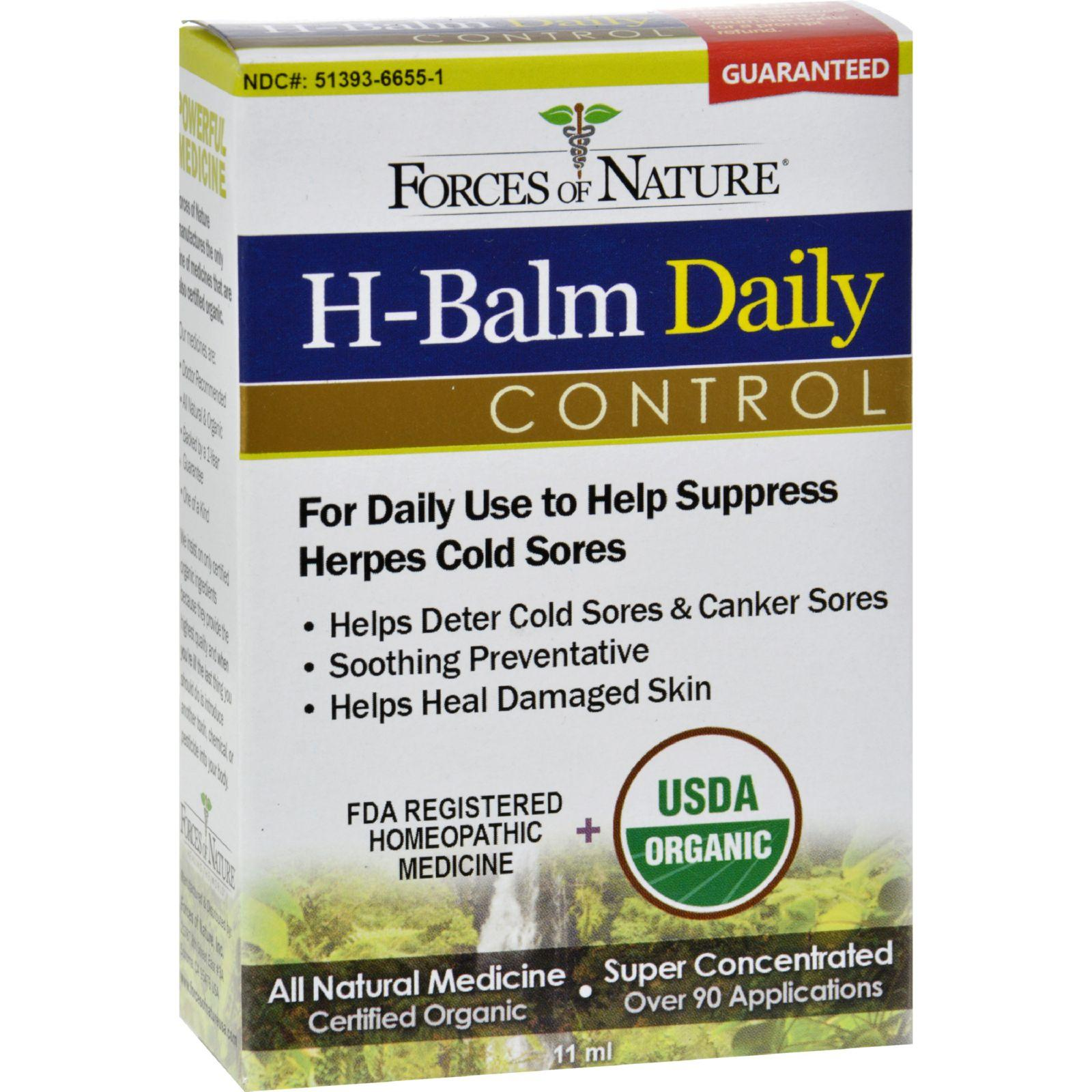 H- Balm Daily Control- 11ml- Forces Of Nature