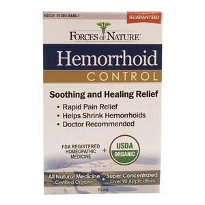 Hemorrhoid Control-11ml- Forces Of Nature