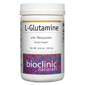 L-Glutamine Powder 10.8 oz-Bioclinic Naturals