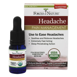 Migraine Pain Management-11ml- Forces Of Nature