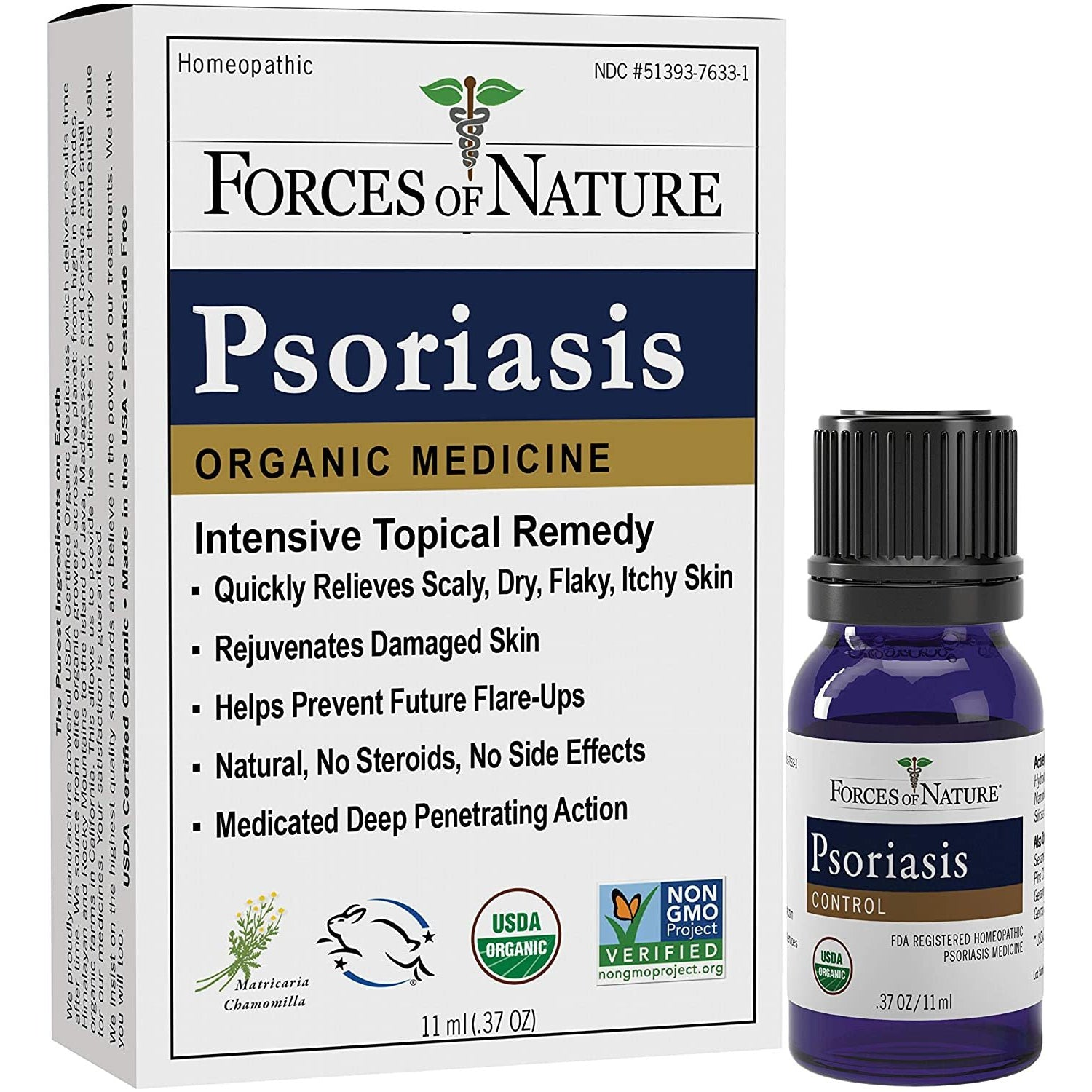 Psoriasis Relief-11ml- Forces Of Nature