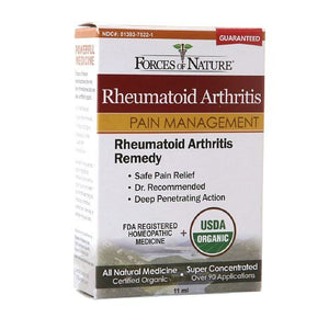Rheumatoid Arthritis Pain Management-11ml- Forces Of Nature