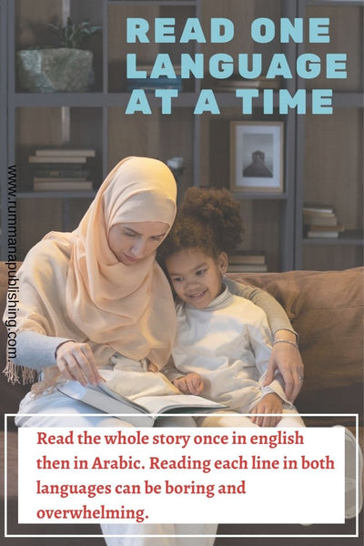 A motheris reading a story book to her child daughter on the couch at home