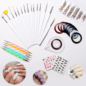 34pcs Nail Art Kit