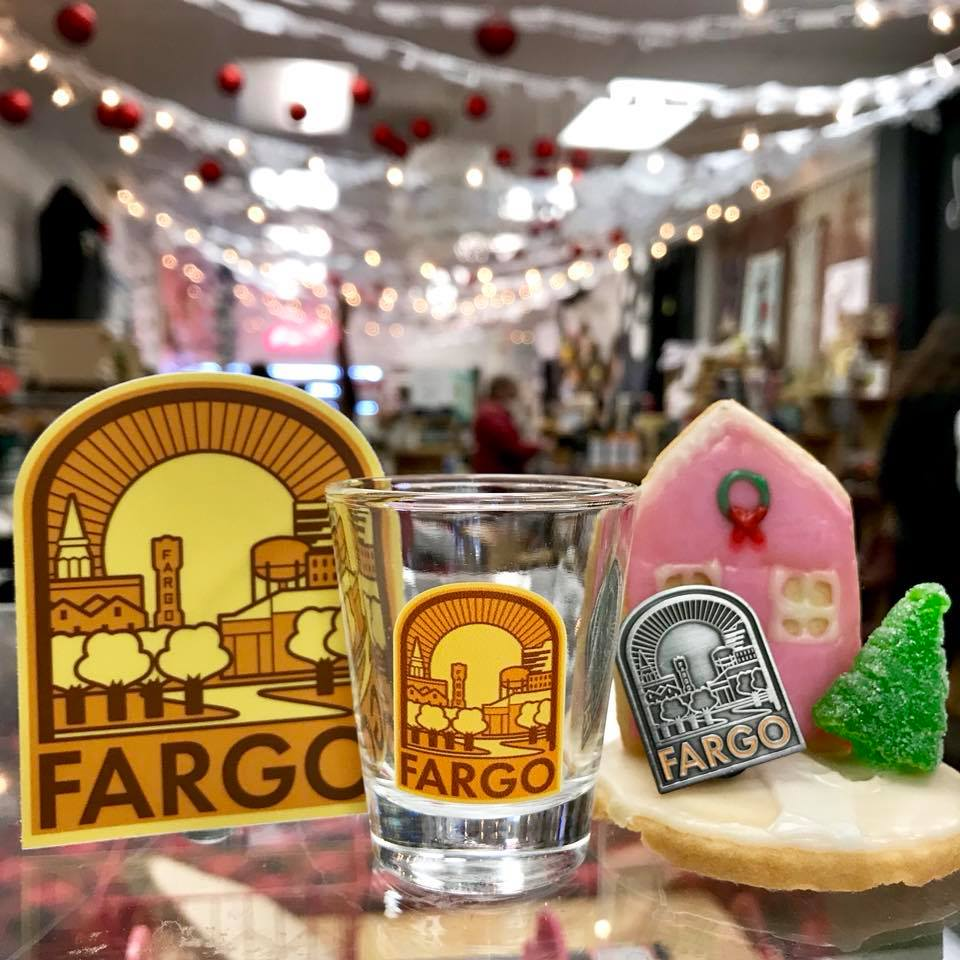 Fargo Scenes Shot Glass