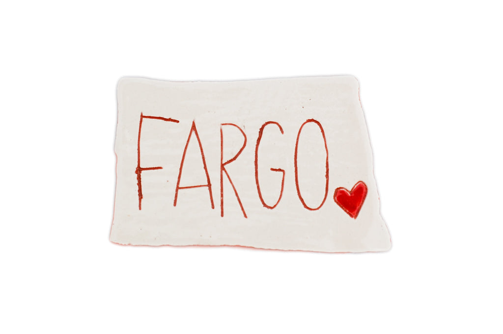 Fargo Ceramic Magnet (Regular Size)