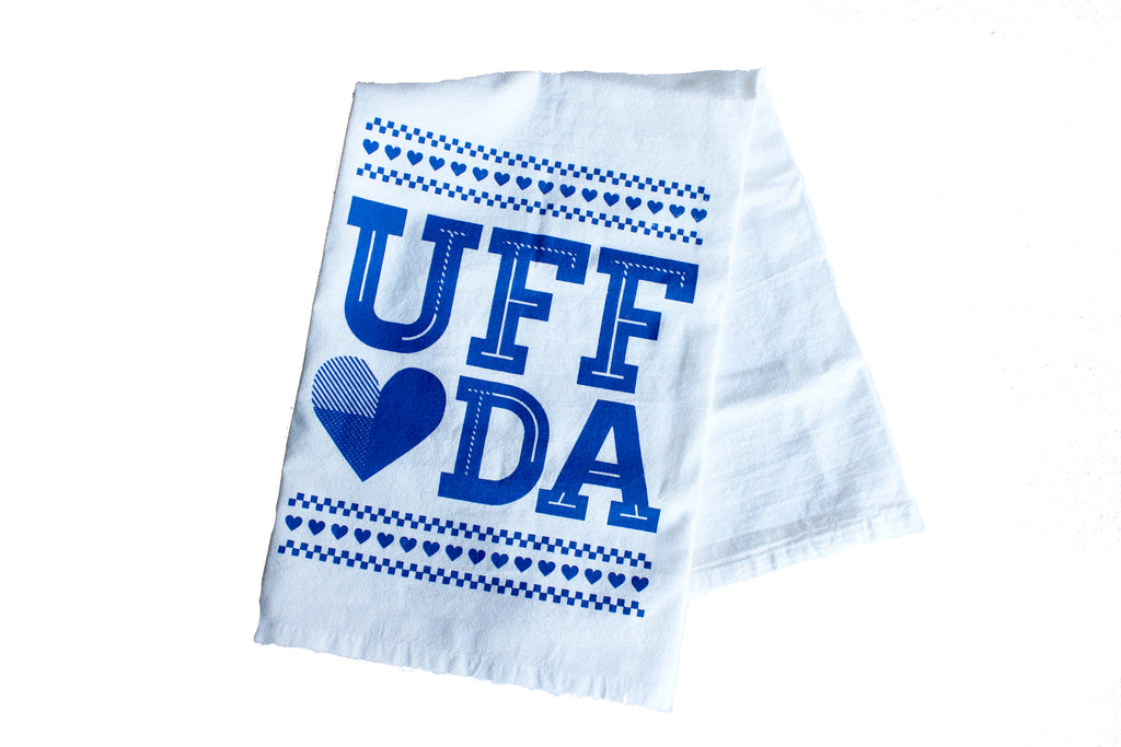 Uff Da Tea Towel