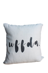 Uffda Linen Pillow