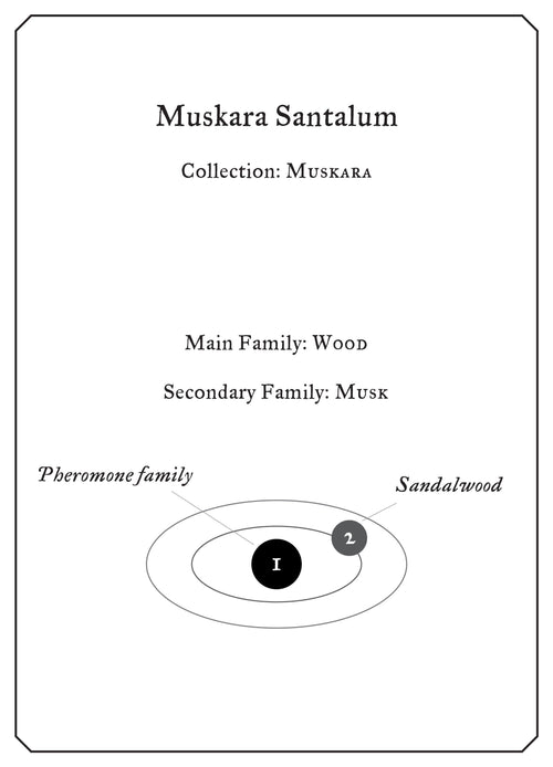 Muskara Santalum - Sample