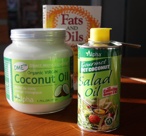 The history of healthy oils--coconut and optimal ketone substrate Salad Oil