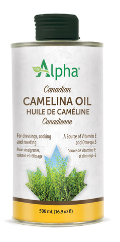 Canadian Camelina Oil - NEW