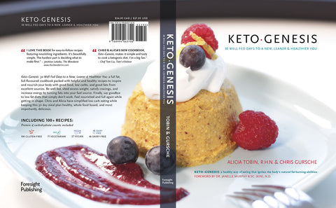 Keto•Genesis: 30 well fed days to a new, leaner, & healthier you
