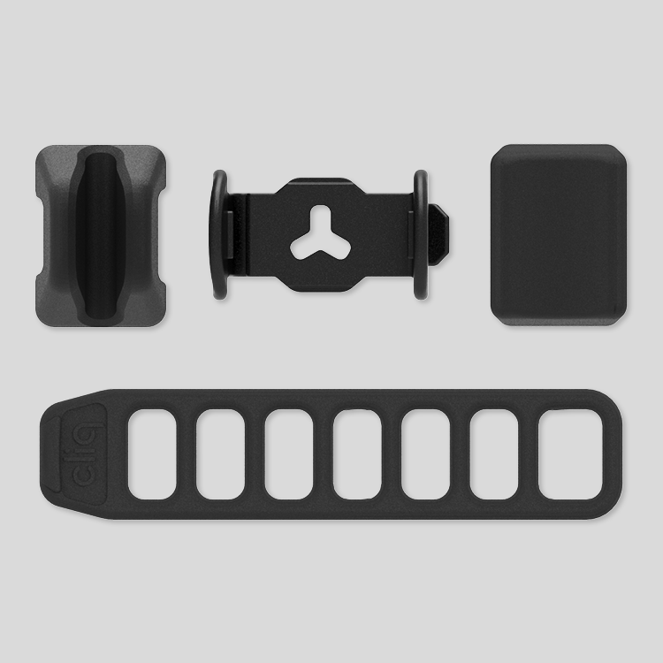 Cliq aero mount pack components