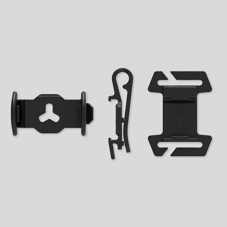 Cliq gear mount pack components