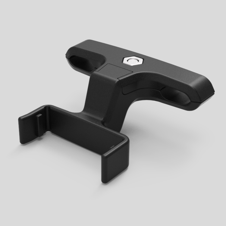 Saddle mount pack components