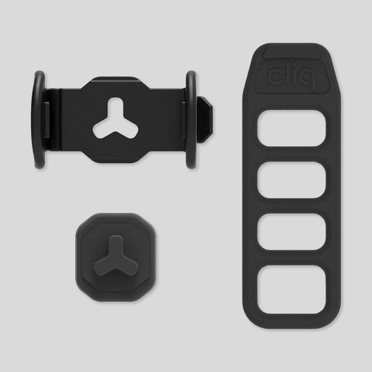 Cliq standard mount pack components
