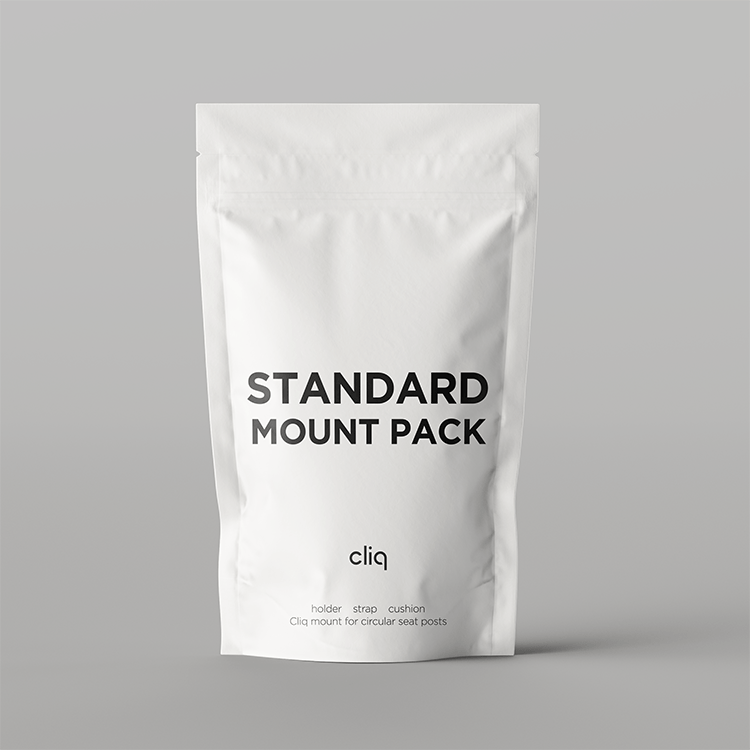 Cliq standard mount pack package front