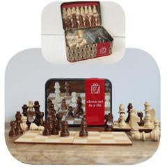 Chess Gift Tin