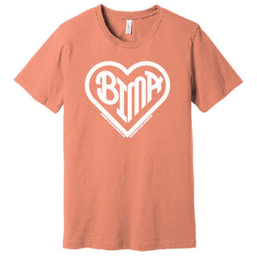BIMA Heart T-Shirt Sunset