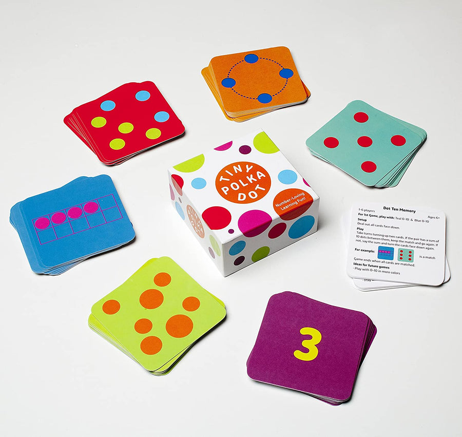 Tiny Polka Dot Learning Game