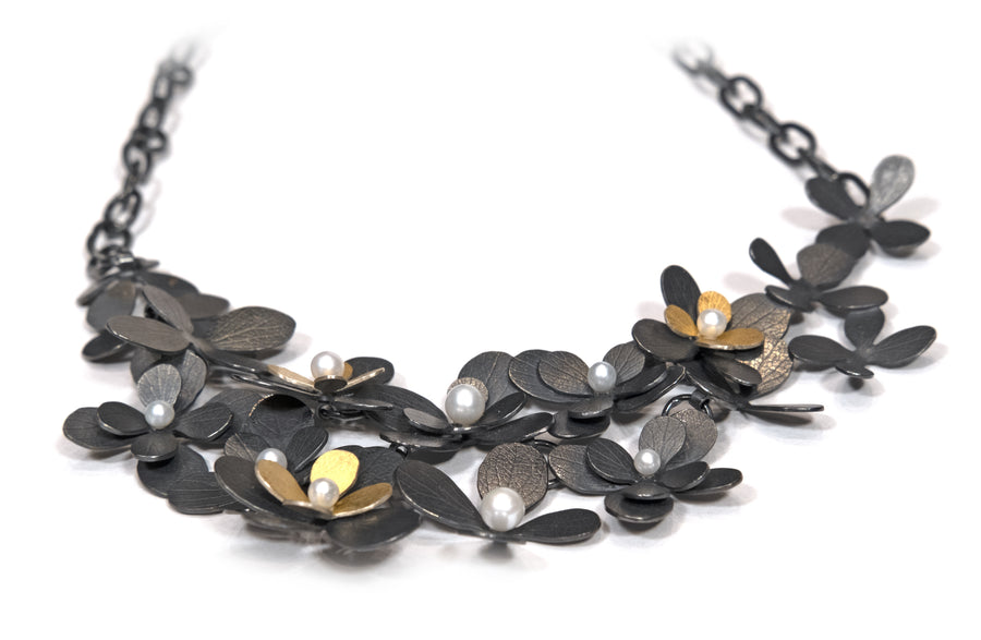 Bouquet Bib Necklace by Carolina Andersson