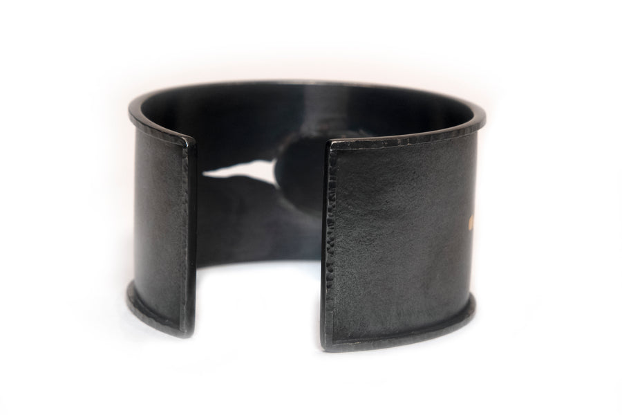 Wide Cuff Bracelet by Carolina Andersson