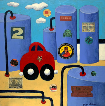 Car & Storage Tanks by Max Grover