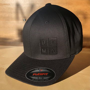 BIMA Logo Flexfit Cap in Black