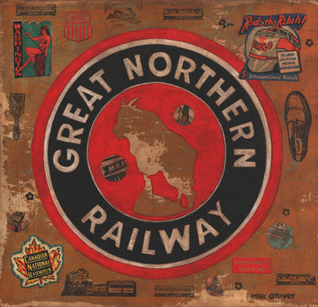 Great Northern Railway by Max Grover