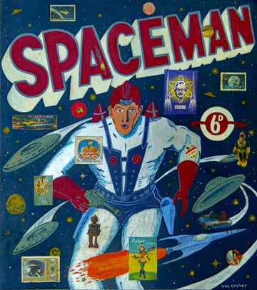 Spaceman by Max Grover