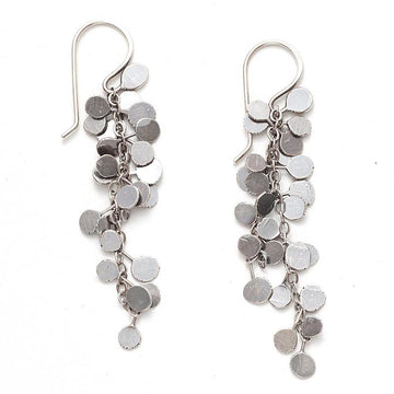 Coined Bright Earrings by Zuzko
