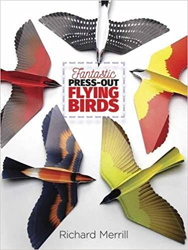 Fantastic Press Out Flying Birds by Richard Merrill