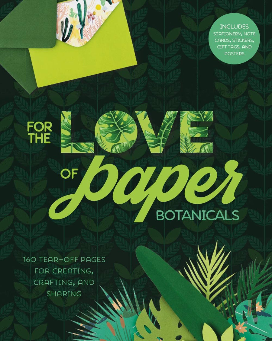 For The Love of Paper: Botanicals