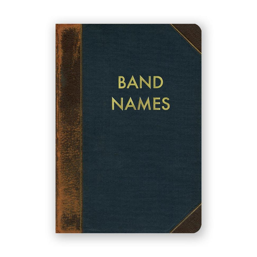 Band Names Pocket Journal