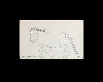 Original Pen and Ink Drawing by Woodleigh Marx Hubbard: Harold