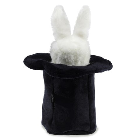 Rabbit In A Hat Plush Puppet