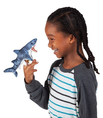 Shark Plush Finger Puppet