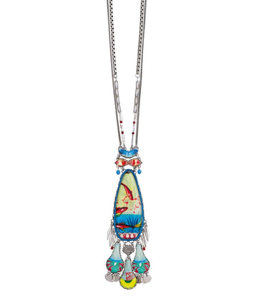 Clear Coast, Saffron Necklace by Ayala Bar