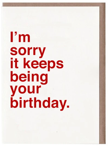 Sad Shop Greeting Cards