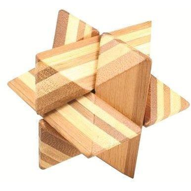 3D Bamboo Puzzle