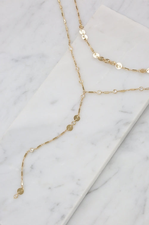 In Harmony 18kt Gold Plated Choker Set