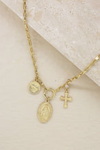 Load image into Gallery viewer, Faithful Charms 18k Gold Plated Necklace