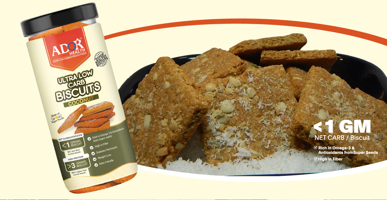 Ultra Low Carb Biscuits Coconut Flavour