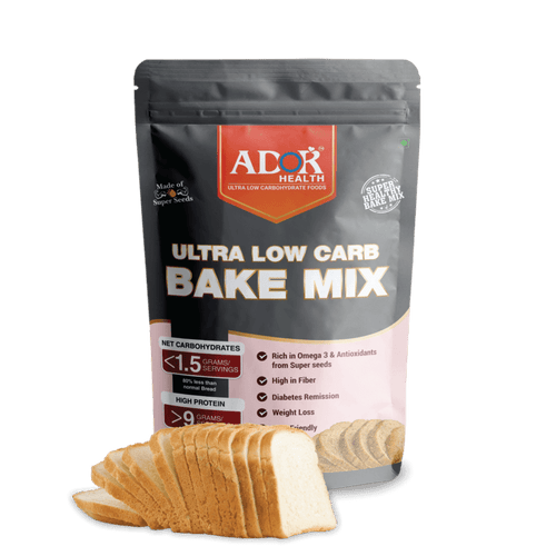 Ultra Low Carb Keto Bake Mix | Bread | Cakes (400 Gram)